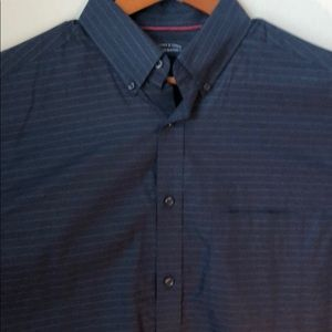 Men's long sleeve Button Down Dress Shirt